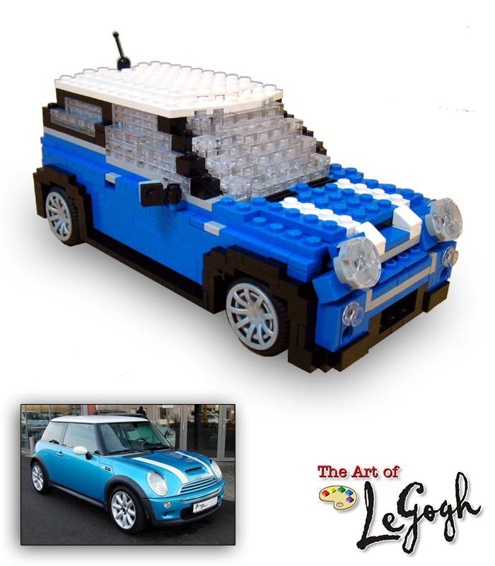 The Art Of Legogh Custom Commissioned Lego Art Replicas